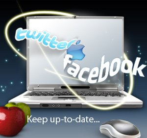 keepuptodate facebook twitter